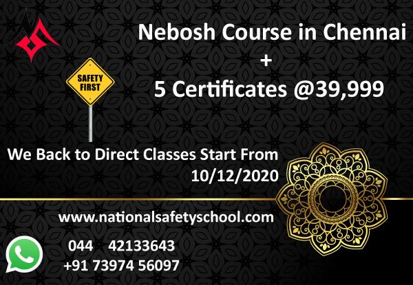 Nebosh international general certificate